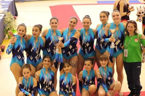 Ginnastica acrobatica: Sabrina Lanfranco e Matilde Gallan si laureano vice campionesse italiane Uisp