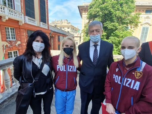 Ginnastica: il Comitato FGI Liguria fa il tifo per le gemelle D'Amato e ringrazia la Società Andrea Doria