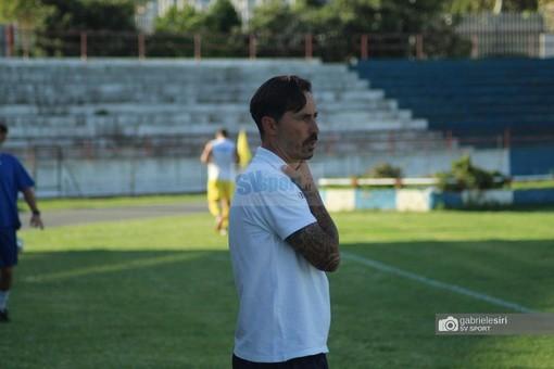 """Calcio. Savona, Grandoni vede il bicchiere mezzo pieno dopo il terzo 0-0 consecutivo: """"Squadra viva nonostante le tre partite giocate in una settimana"""" (VIDEO)"""