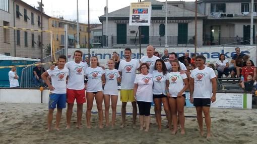 """""""Insieme sotto rete"""", beach volley e solidarietà ad Albisola per raccogliere fondi per la Croce Verde (FOTO E ViDEO)"""