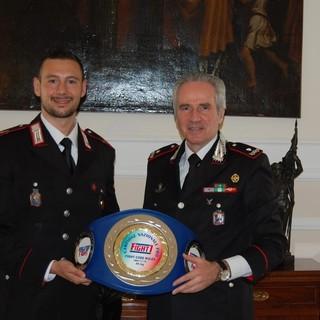 Alassio, la compagnia dei Carabinieri ha il suo campione nel K1-Fight: il vicebrigadiere Vittorio Iermano (FOTO)