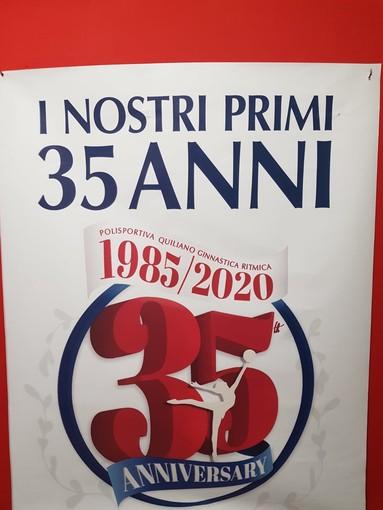 Ginnastica. Sabato alle 17:30 la Polisportiva Quiliano festeggia 35 anni di storia con un libro dedicato
