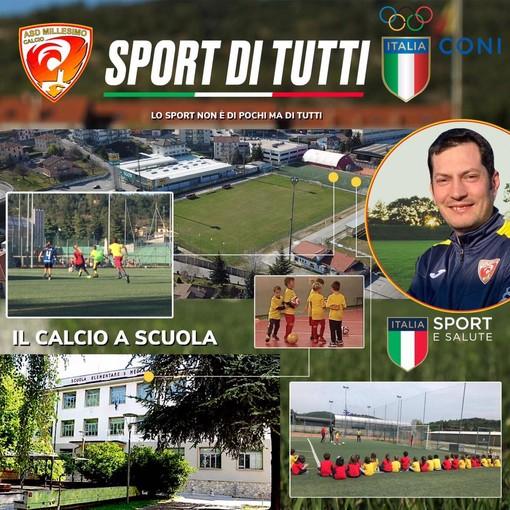 """Calcio. Il Millesimo """"non è solo prima squadra"""": il giovane sodalizio ha sposato il progetto """"Sport di tutti"""""""