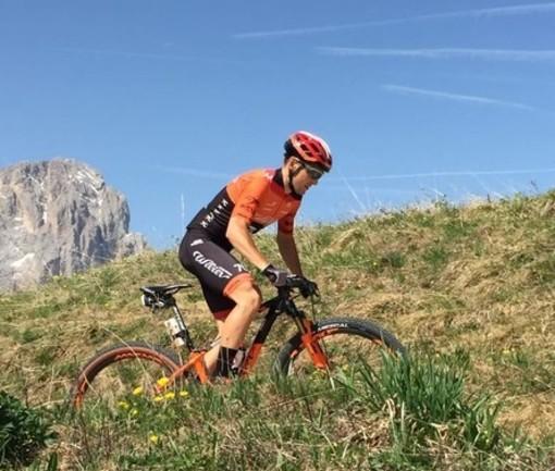 """Il cellese Marco Rebagliati vince la Hero Dolomites e punta al Campionato Italiano Mtb: """"Punto al massimo possibile"""""""