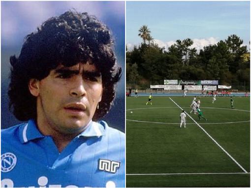 Quando Maradona si allenò alla Natta a Celle, il ricordo dei palleggi con un'arancia