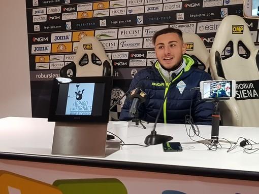 """Calcio. Albissola, l'amarezza di Mahrous dopo il ko di Siena: """"La gara ci ha detto male, torniamo a casa col rammarico"""""""