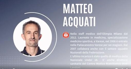 Basket: lo sport ai tempi della pandemia, la Fortitudo Savona ha ospitato virtualmente il Dottor Matteo Acquati