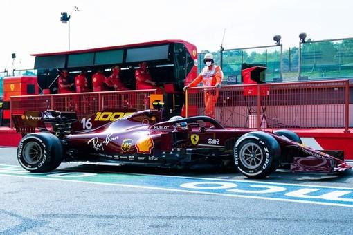 Formula 1. Qualifiche al Mugello, la fortuna aiuta Leclerc: monegasco quinto con la Ferrari nel weekend del GP numero 1000