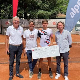 Matteo Arnaldi premiato a Bolzano