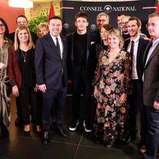 Charles Leclerc riceve la Médaille d'Honneur del Conseil National di Monaco
