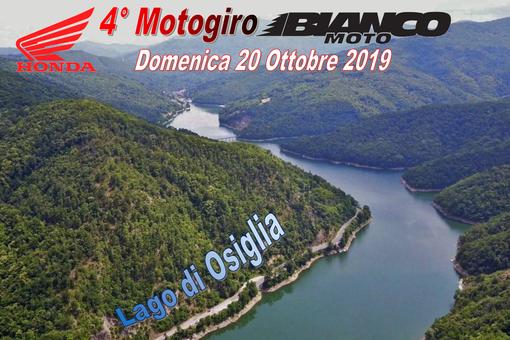 Motori. Quarto Motogiro Bianco Moto Cuneo, la manifestazione avrà come meta il Lago di Osiglia