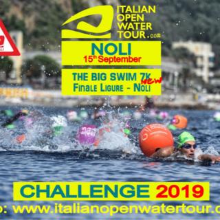 Nuoto: domenica Noli sarà capitale d'Italia open water