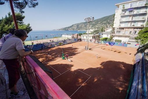 Ospedaletti: oggi l'open day sui campi da tennis, una giornata per rilanciare l'impianto sportivo