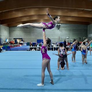 Ginnastica Artistica. La Polisportiva Agi conquista il titolo duo L3 con Alice Guidotti e Emma Meshau