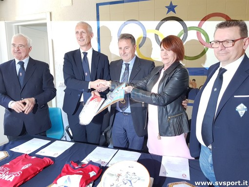 Albissola - Rari Nantes Savona: è ufficialmente nata la partnership tra i due club (FOTO e VIDEO)