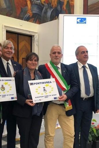 """Pontinvrea è """"European Town of Sport 2021"""""""