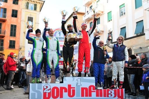"""Albenga, il rally """"Giro dei Monti Savonesi Storico"""" è di Mano - Aivano su Toyota Celica"""