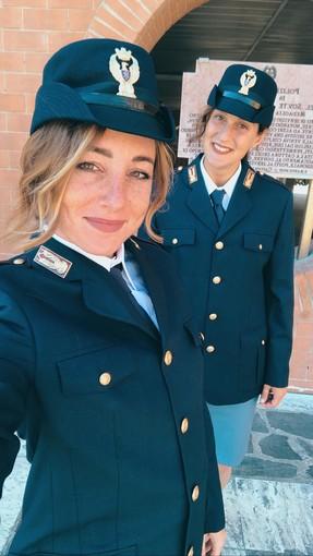 Pallanuoto: Giulia Gorlero e Giulia Emmolo hanno giurato per la Polizia di Stato