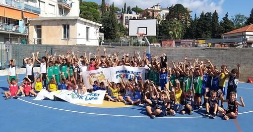 Minibasket, ad Alassio quasi cento bimbi per la Festa del Centenario della Federazione