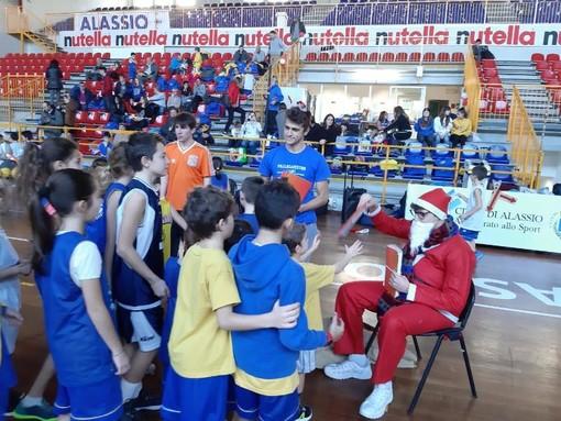 Pallacanestro Alassio, Festa di Natale con una grandissima partecipazione