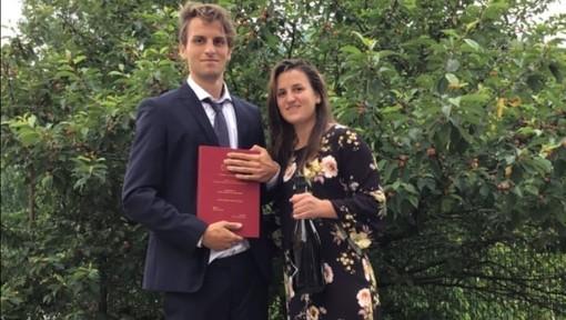 Calcio. L'Albenga ha un dottore in più, congratulazioni a Pierfrancesco Figone