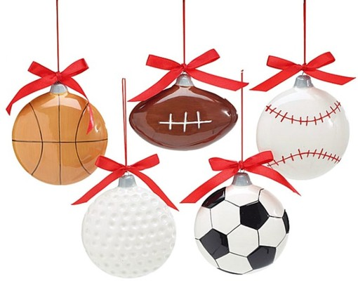 palle di natale sportive