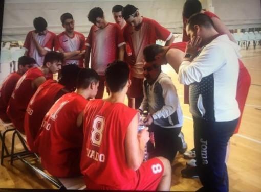 Pallacanestro Vado. L'Under 16 batte 72-39 il College Basketball e riprende la strada verso il titolo