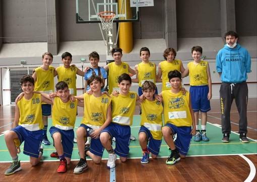 Pallacanestro Alassio, una bella settimana che è andata dai senior al ritorno in campo del minibasket