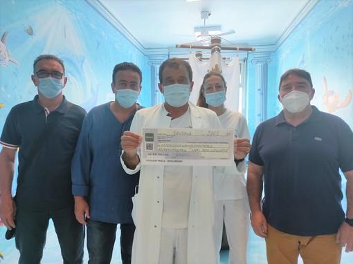 La Pasqua solidale della Polisportiva Quiliano ha permesso di devolvere più di 2000 euro al reparto di Pediatria dell'Ospedale San Paolo di Savona