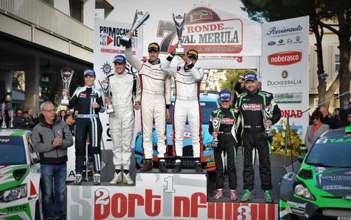 il podio della Ronde Val Merula 2020