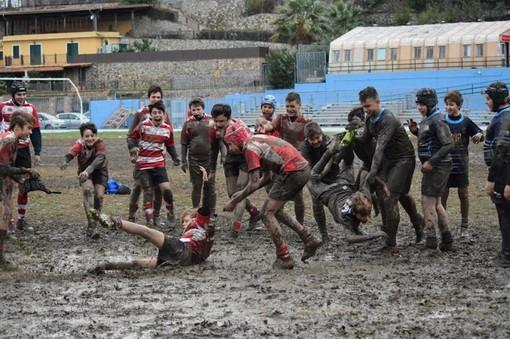 Rugby Savona, Under 14, l'allenamento di gruppo si fa via web