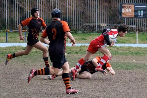 Rugby giovanile: Savona impegnato su più fronti nello scorso week end, bene l'Under 16