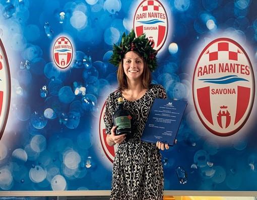 Rari Nantes Savona in festa, Federica Sala si è laureata in Economia