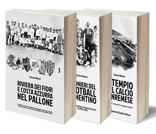 """E' in arrivo il nuovo libro di Gerson Maceri: """"Riviera dei Fiori e Costa Azzurra nel pallone"""""""