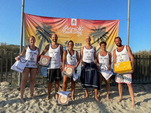 Riviera Beach Volley, è partito alla Marina di Loano il Circuito regionale Menabrea