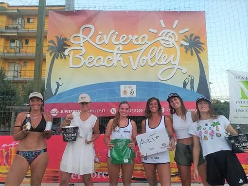 Riviera Beach Volley: il circuito Menabrea ha fatto tappa a San Bartolomeo al Mare