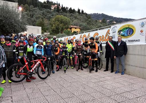 "Ciclismo. Circa 150 partecipanti alla Randonnée ""Dal Muretto alla Lanterna"""