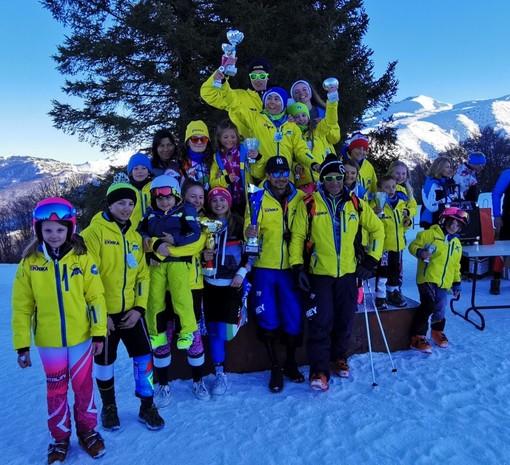 Sci, Coppa Liguria: Trionfo Grizzly Snow Team a Lurisia, Valbormida al terzo posto