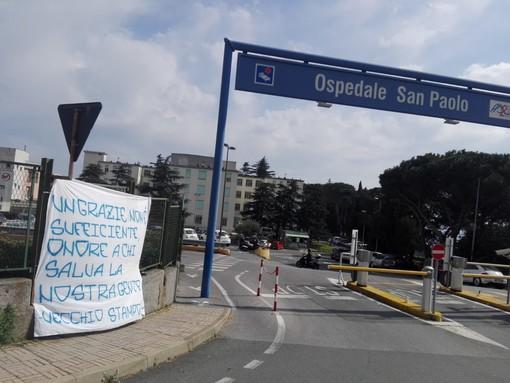 """Calcio, Savona. Il gruppo """"Vecchio Stampo"""" ringrazia gli operatori sanitari: """"Un grazie non è sufficiente, onore a chi salva la nostra gente"""""""