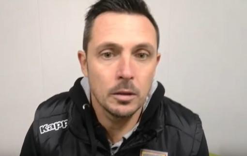 """Calcio, Albenga, il commento di mister Matteo Solari dopo la goleada sul Finale: """"Grande prestazione, un grazie ai nostri tifosi"""""""