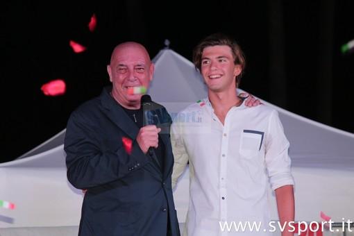 Stefano Mentil insieme ad Andrea Filadelli, vincitore della scorsa edizione