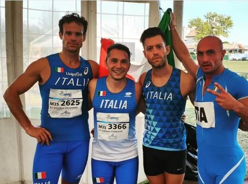 Atletica Arcobaleno, Europei Master: Stefano Pasquato e Ino Abbo si vestono di oro e argento a Jesolo