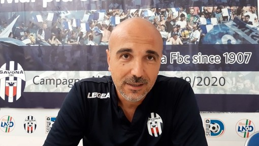 """Calcio. Savona, battere la Lavagnese per scalare ancora la classifica. Siciliano: """"Servirà lo stesso approccio di mercoledì contro la Fezzanese"""" (VIDEO)"""