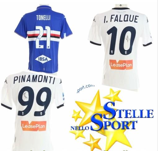 """Falque, Pinamonti e Tonelli """"giocano"""" per la Gigi Ghirotti Onlus con Stelle nello Sport"""