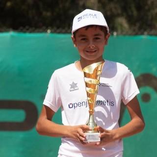 TC Finale: Federico Pugliese vince il Little Tennis Sparks 2021 a Santa Margherita di Pula