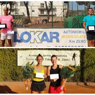 Tennis. A Loano il Trofeo Lokar va a Manuel Massimino e Maria Canavese
