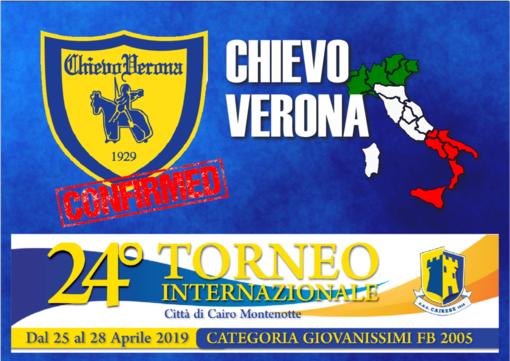 ChievoVerona, l'ottavo club di Serie A partecipante al Torneo Internazionale Città di Cairo Montenotte