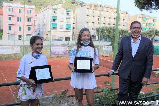 Tennis. Carola Pessina e Vittoria Oliveri riceveranno oggi pomeriggio la Bandiera della Regione Liguria