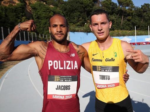 Atletica. Savona ritrova la sfida Tortu - Jacobs, appuntamento al 13 maggio con il Memorial Ottolia sulla pista della Fontanassa