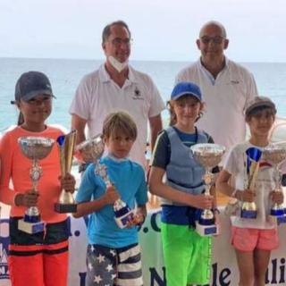 Vela, Optimist: brilla il Varazze Club Nautico al Trofeo Baietto di Spotorno